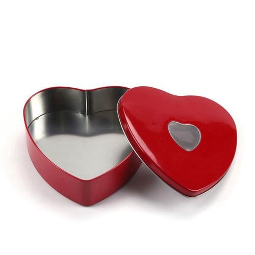 高质量心形镂空马口铁盒
